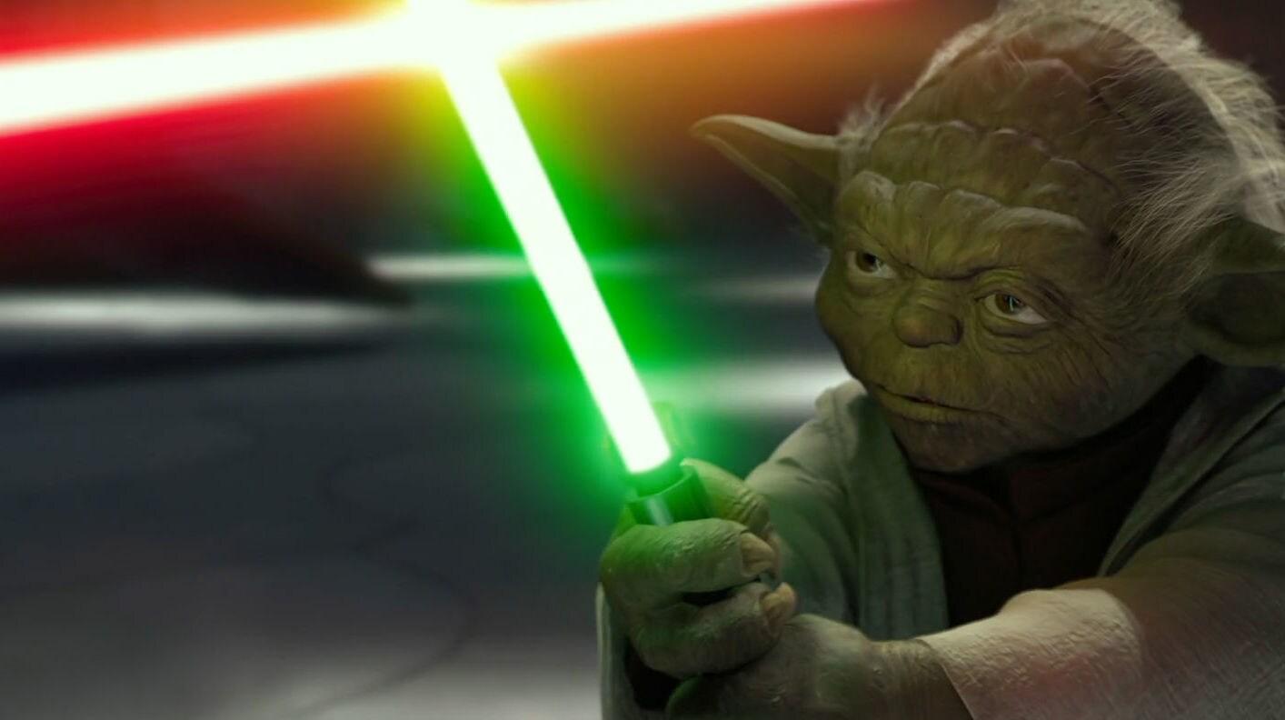 Yoda Kont Dooku'ya Karşı