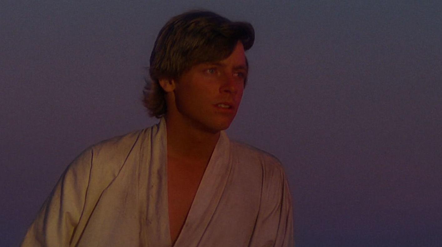 Luke Günbatımını İzliyor
