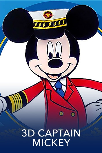 DCL Sweeps: - Family: 3D Captain Mickey