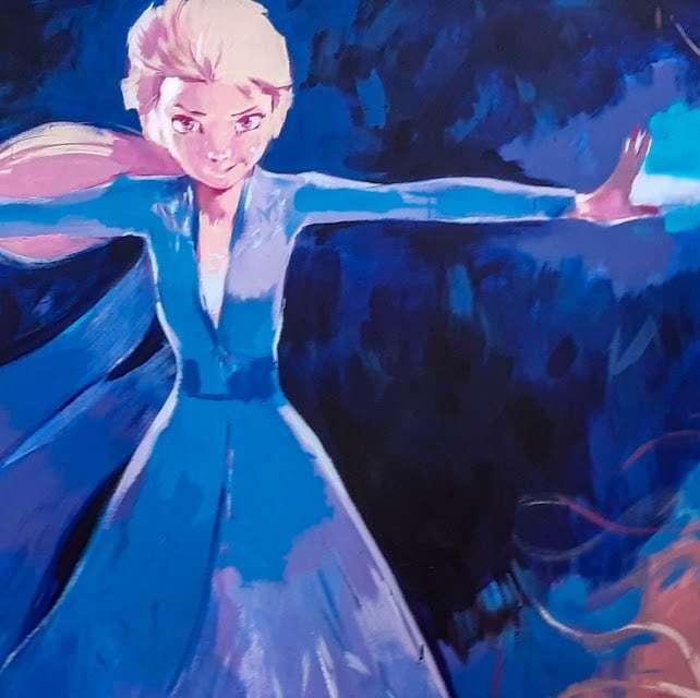 Las ilustraciones de Frozen 2 y Star Wars decoraron el stand de Disney en la Argentina Comic Con