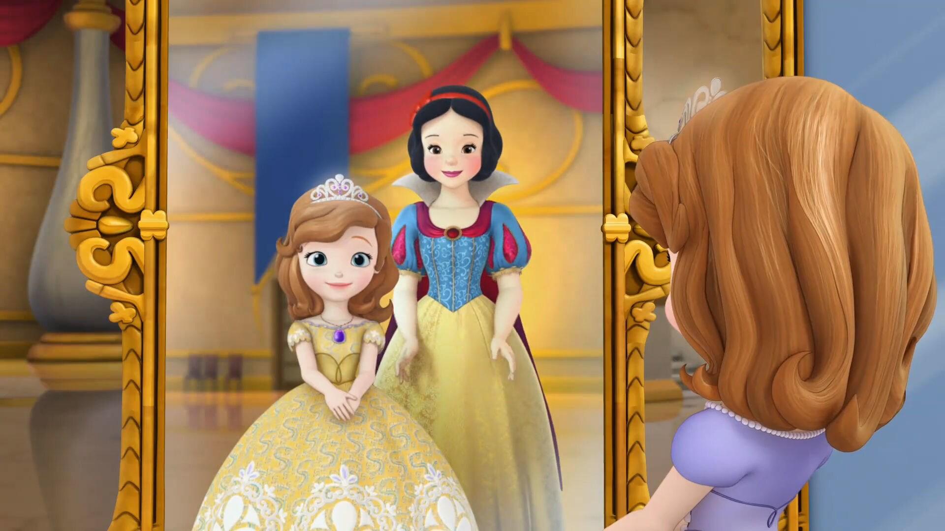Sofia die Erste - Besuch der Prinzessinnen