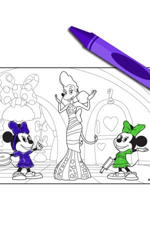 Minnie's Bow-Toons - Trouble Times Two