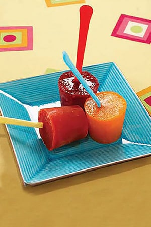 Frozen Juice Pops Recipe