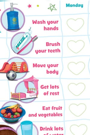 Doc McStuffins Well-Being Chart