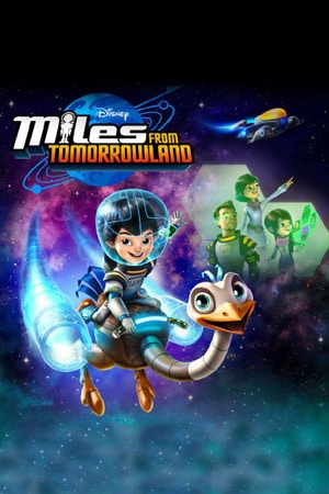Miles From Tomorrowland Poster