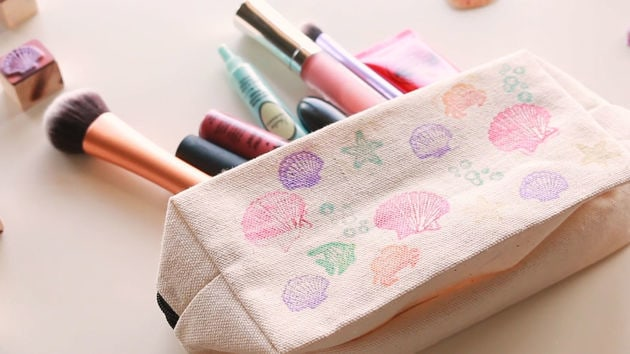 Little Mermaid Inspired DIY Makeup Pouch - Disney Style