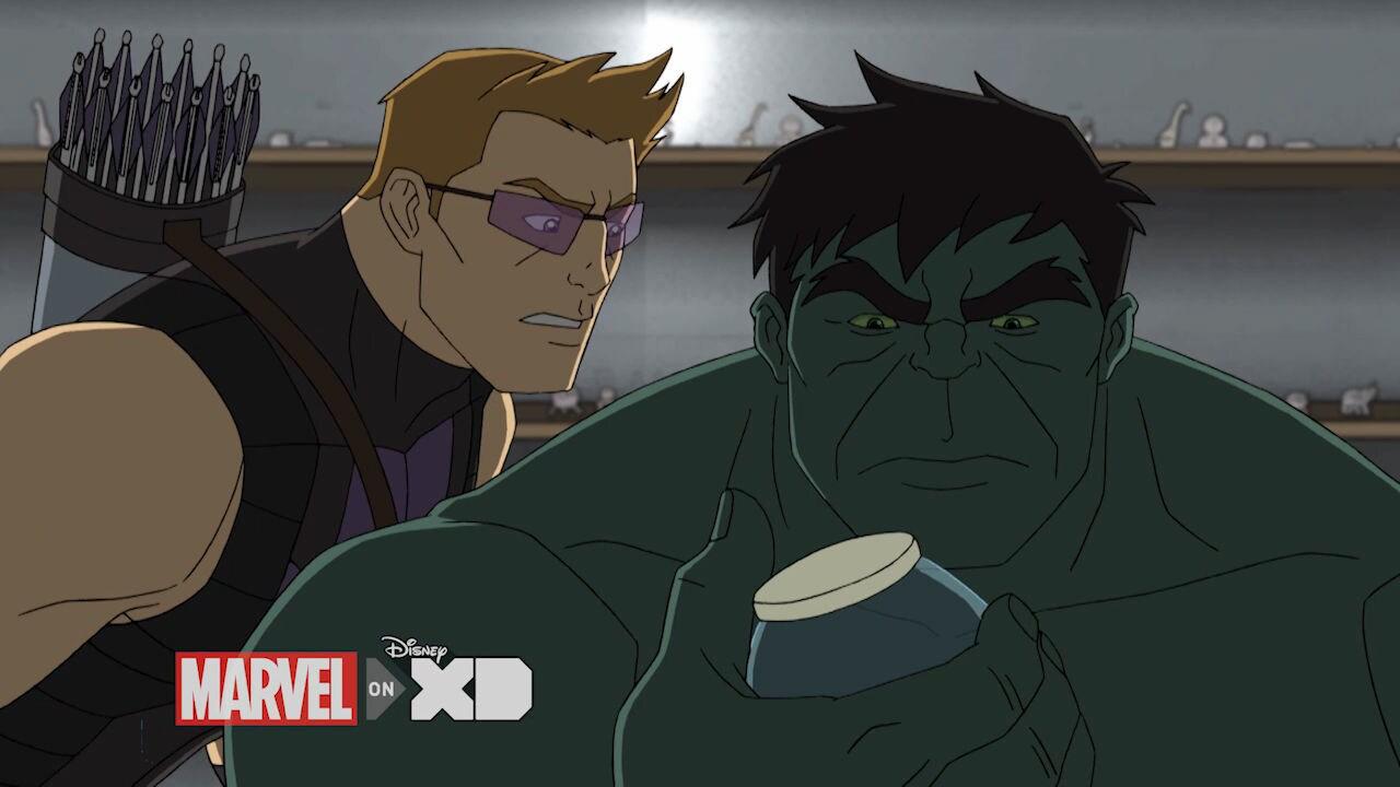 Avengers Assemble - Hulk och Hawkeye