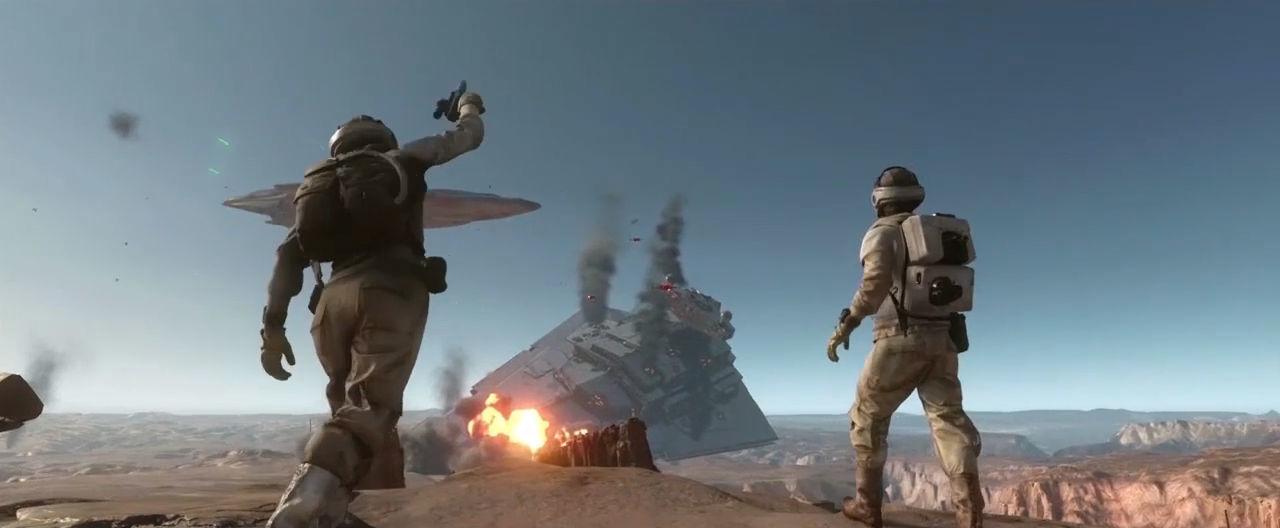 Star Wars Battlefront: Tatooine Trailer