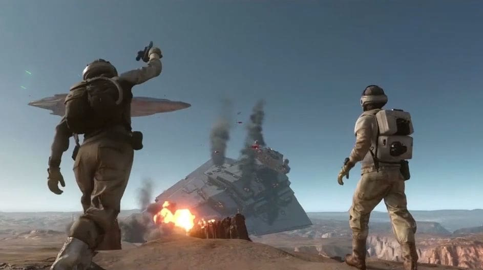 Star Wars Battlefront: Tatooine Trailer