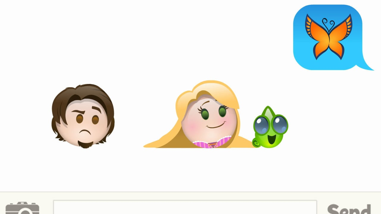 Tangled As Told By Emoji