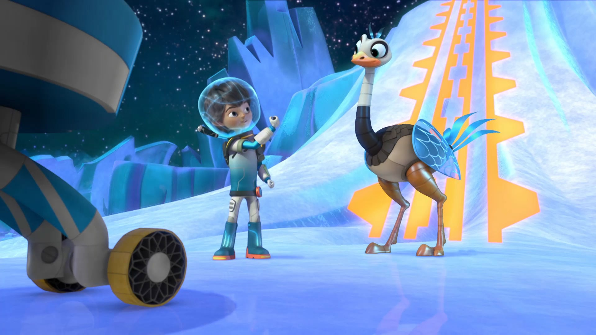 De bevroren planeet