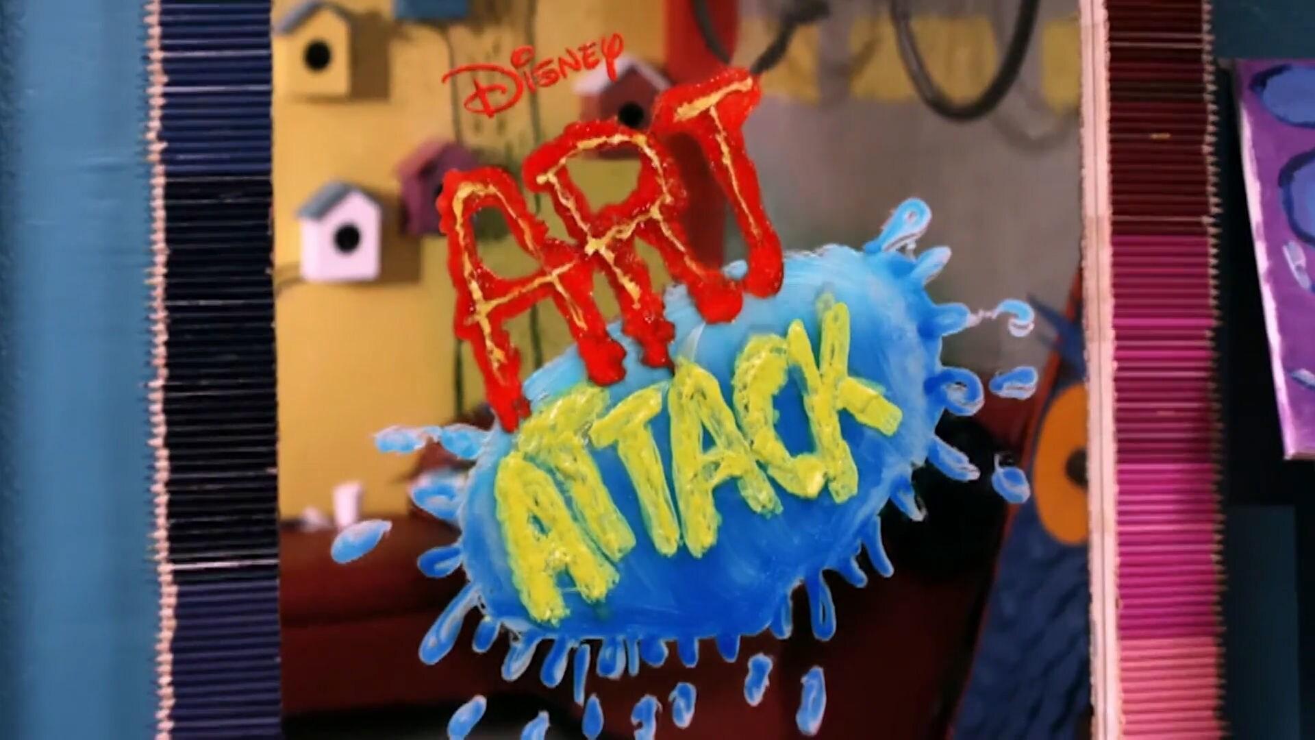 Art Attack on Disney Channel