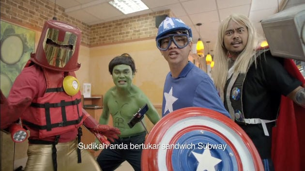 Subway: Marvel's Avengers: Age of Ultron (MY)