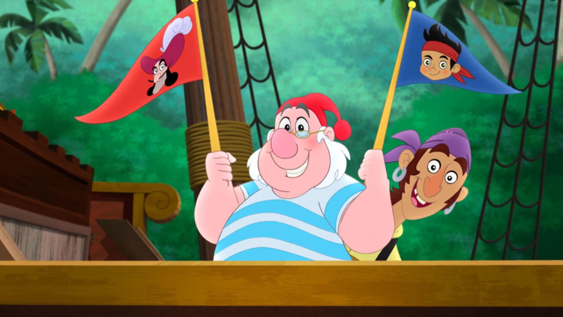 Jake och piraterna från Landet Ingestans - Mot Sjöjungfrulagunen