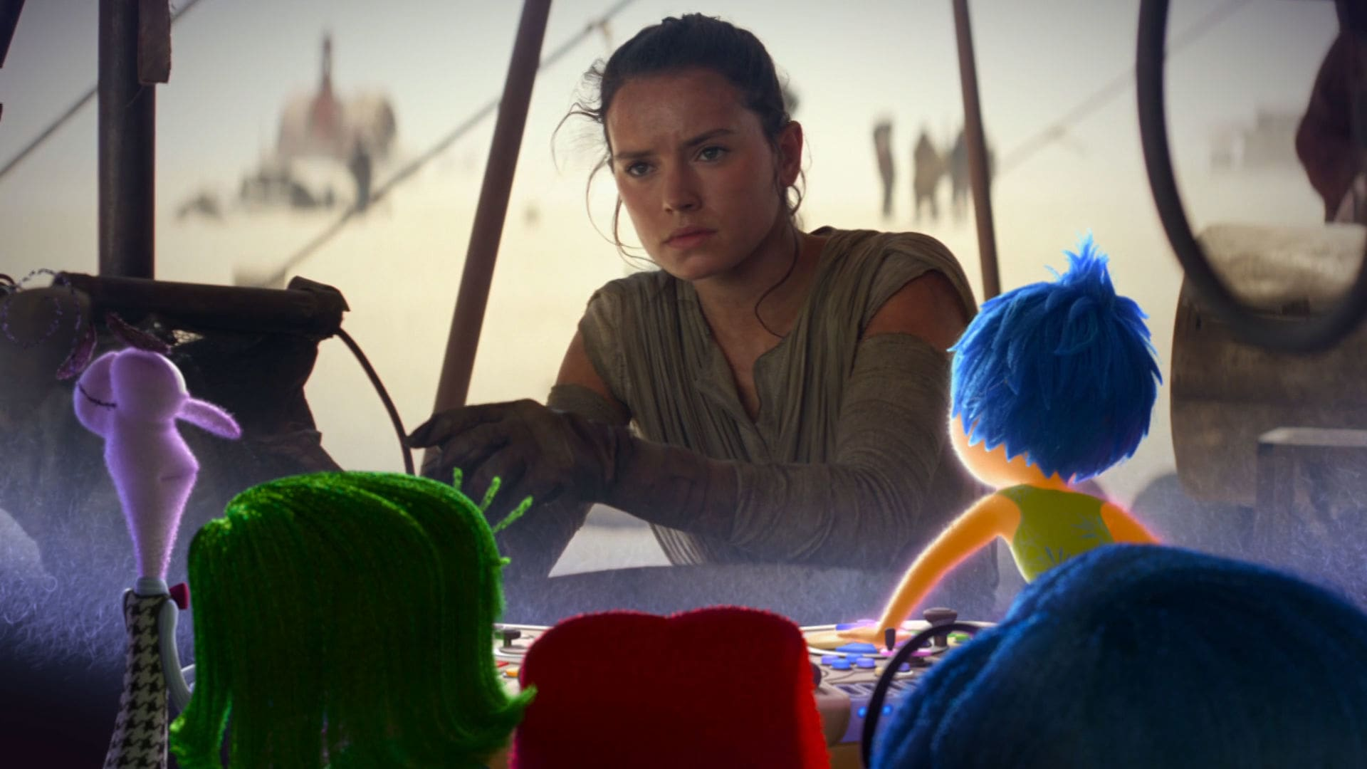 Inside Out Emotions React To Star Wars: The Force Awakens Trailer