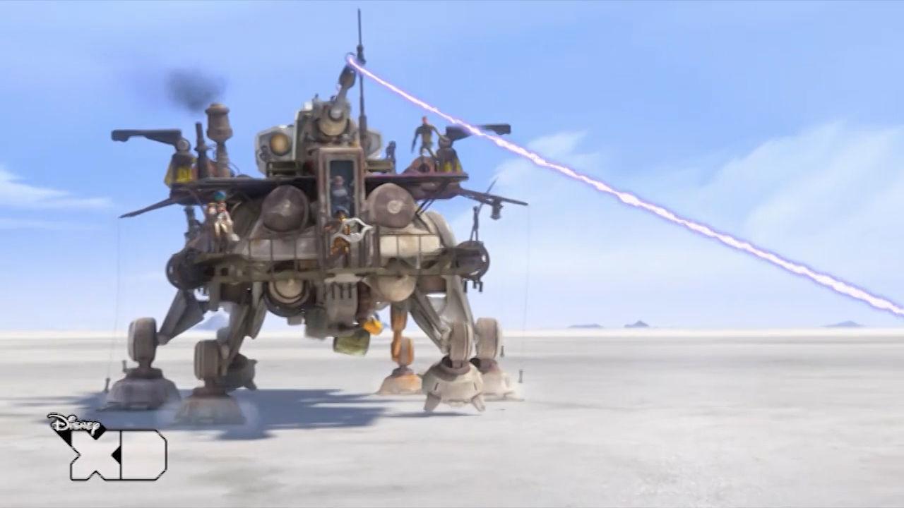 Star Wars Rebels - la lenza