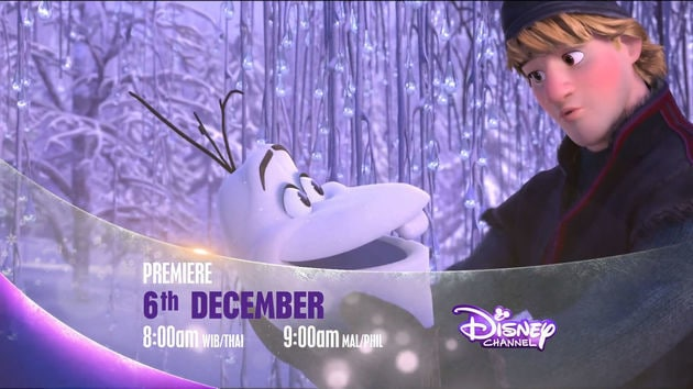 Disney's Frozen Premiere on Disney Channel