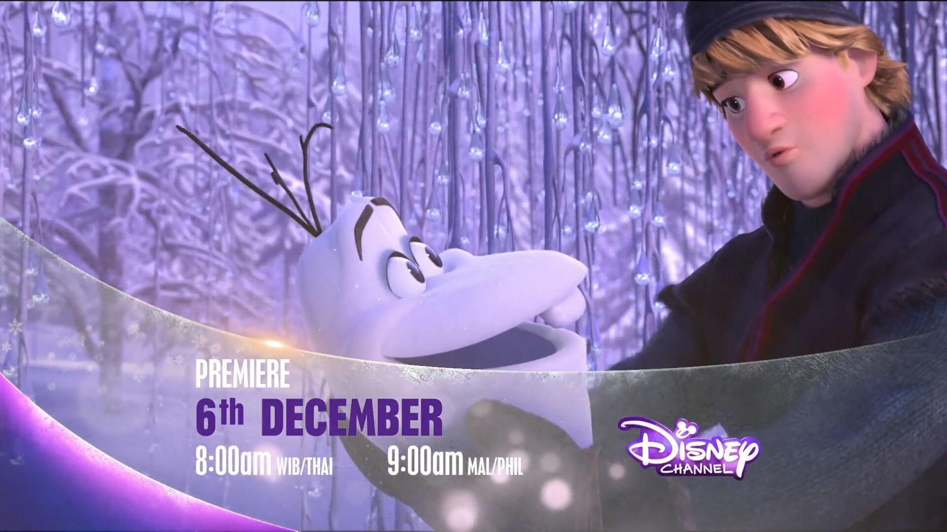 Disney's Frozen Premiere on Disney Channel