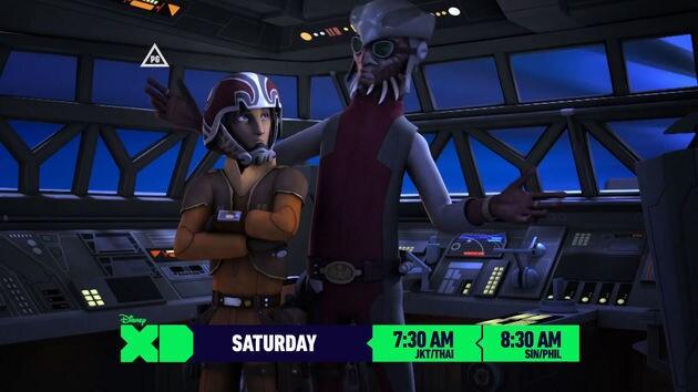 ตัวอย่างที่ 2 จาก Star Wars Rebels เอพิโซดใหม่ทาง Disney XD