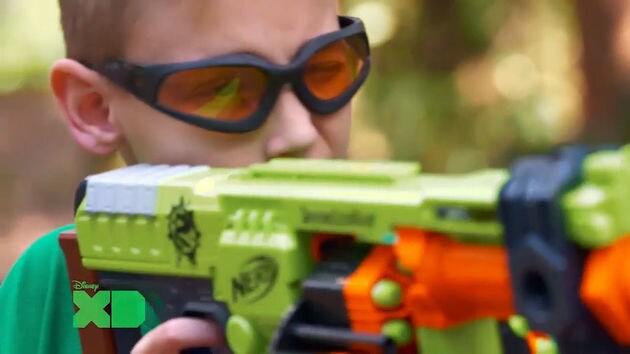 ... Funnel Vision Nerf Gun Challenge ...