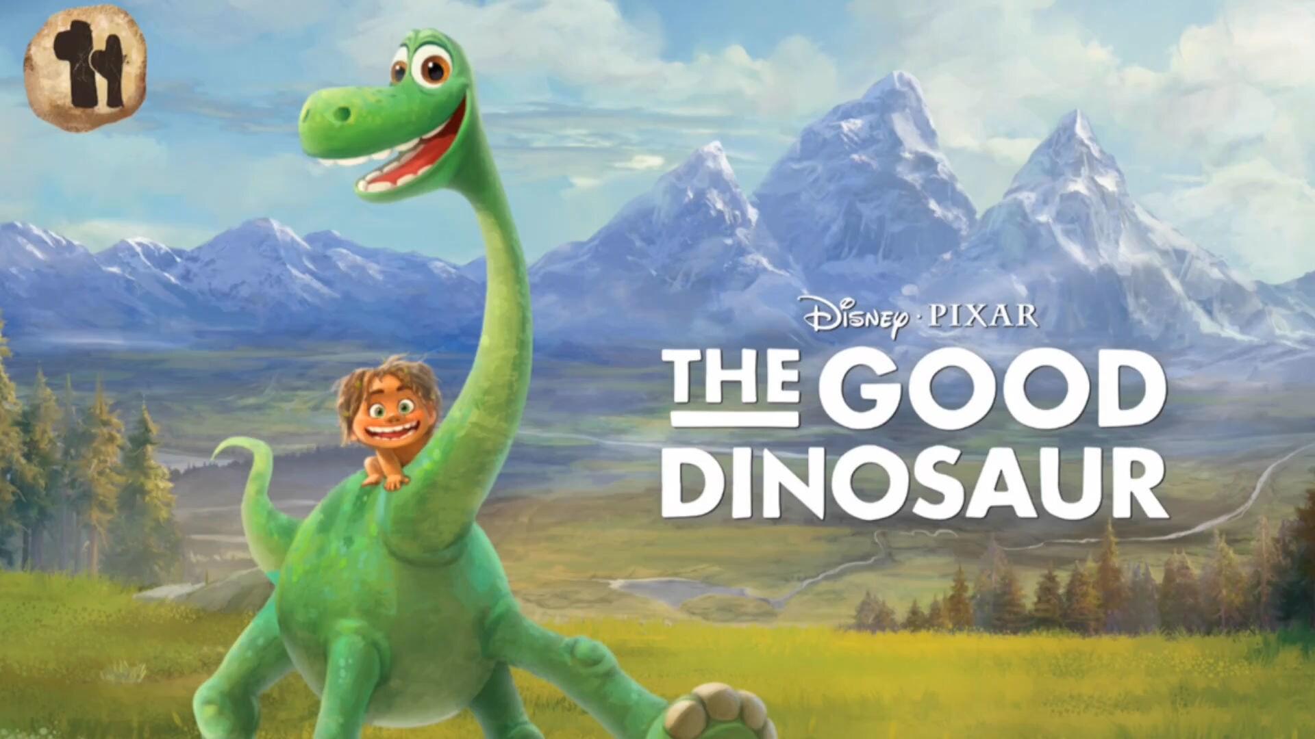 สมุดเล่าเรื่อง The Good Dinosaur