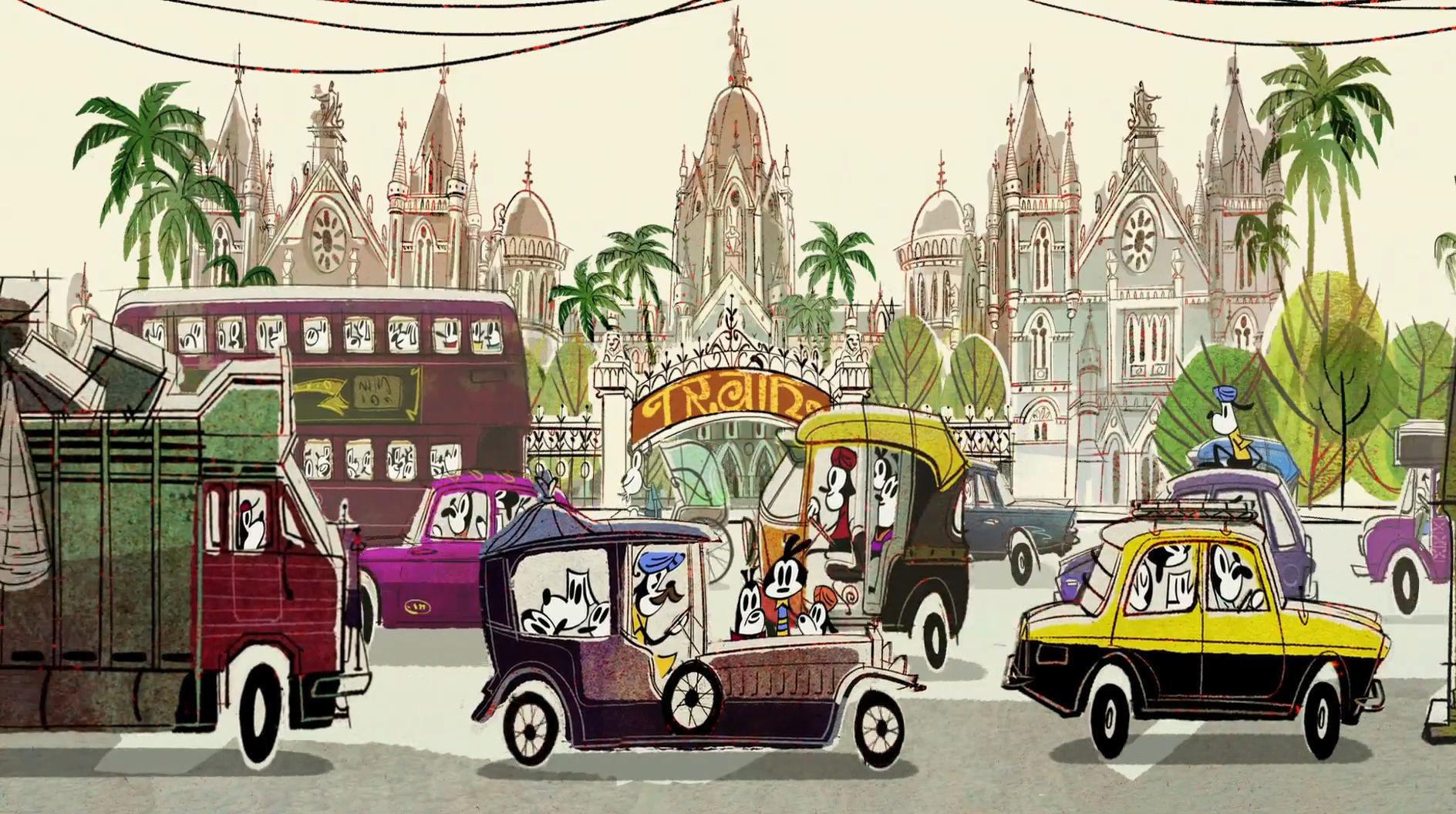 Mumbai อันบ้าครั่ง