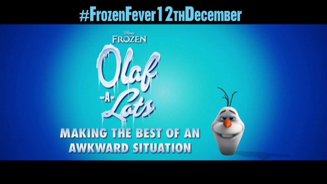 Olaf-A-Lots - Making The Best Of An Awkward Situation