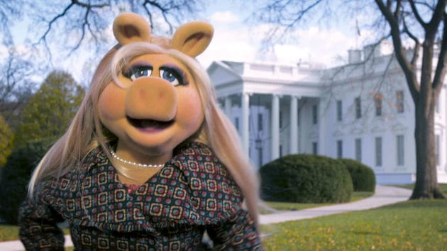 Miss Piggy Goes To Washington | Muppets