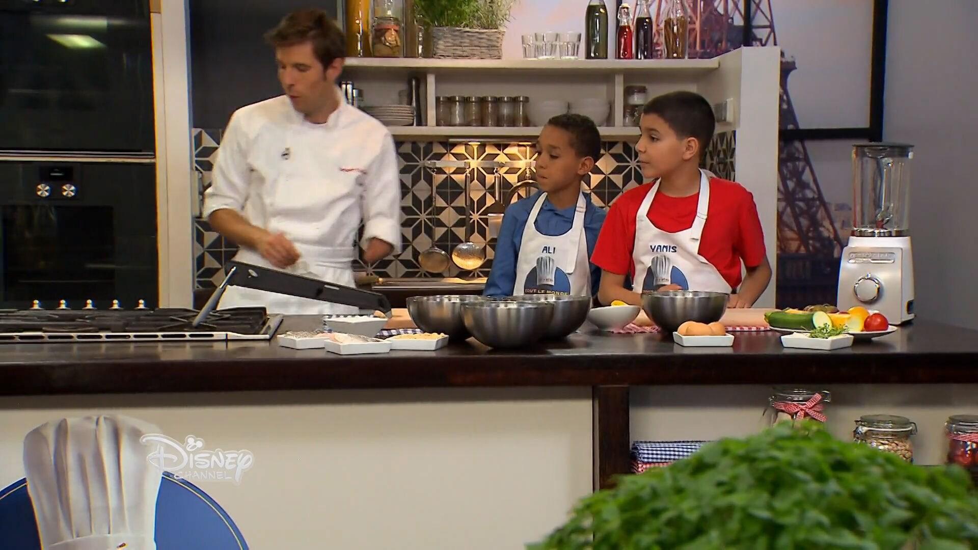 Poisson panné et son tian de légumes d'Ali et Yanis - Chez Rémy Tout Le Monde Peut Cuisiner - Partie 2
