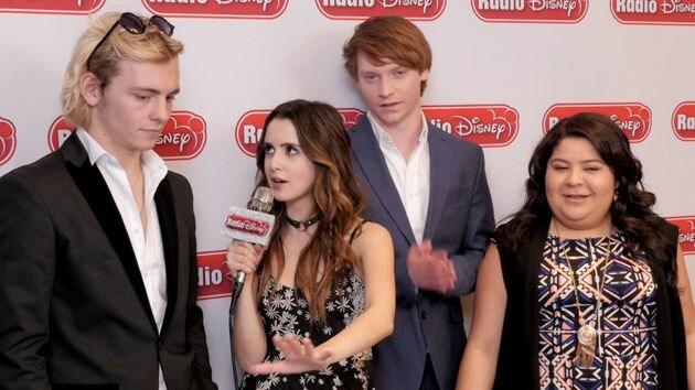 Laura Marano That B Flat with the cast of Austin & Ally | Radio Disney