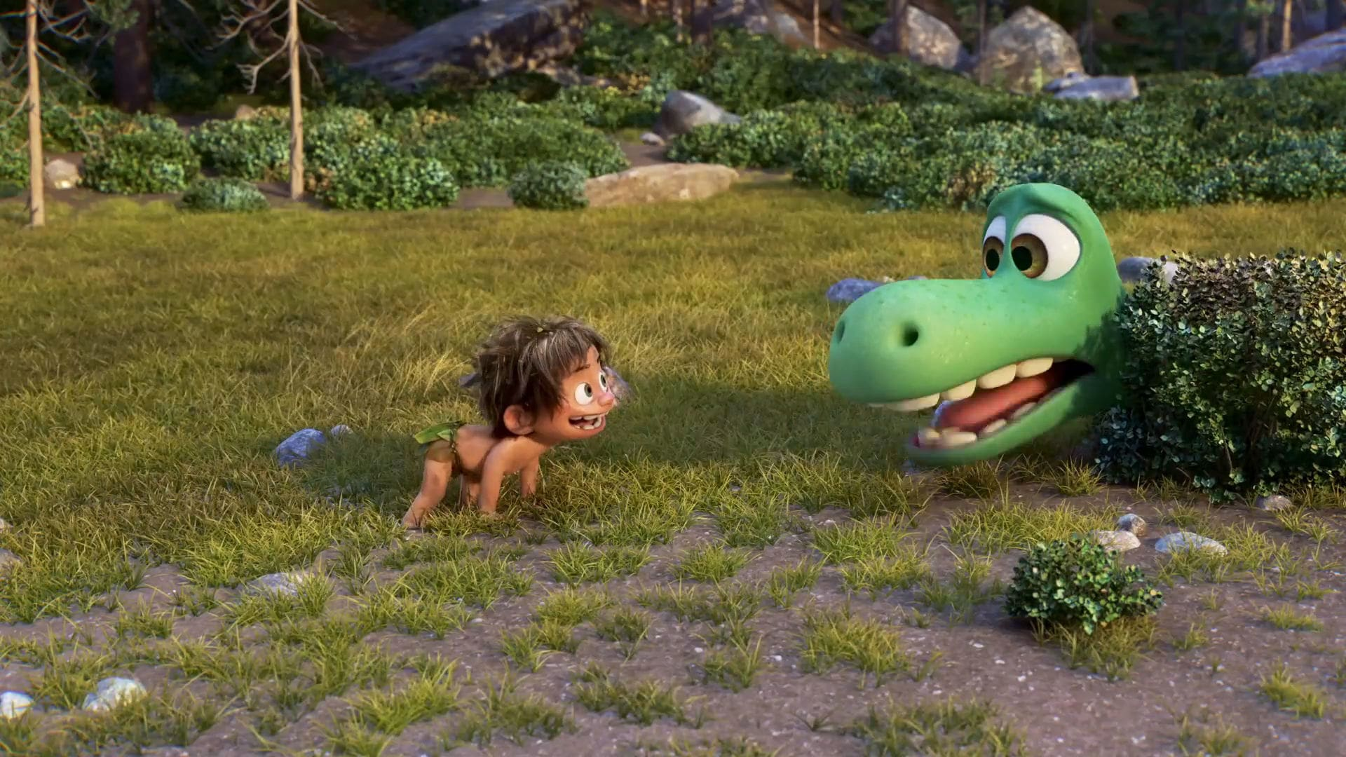 The Good Dinosaur – 'Hide and Seek' Clip