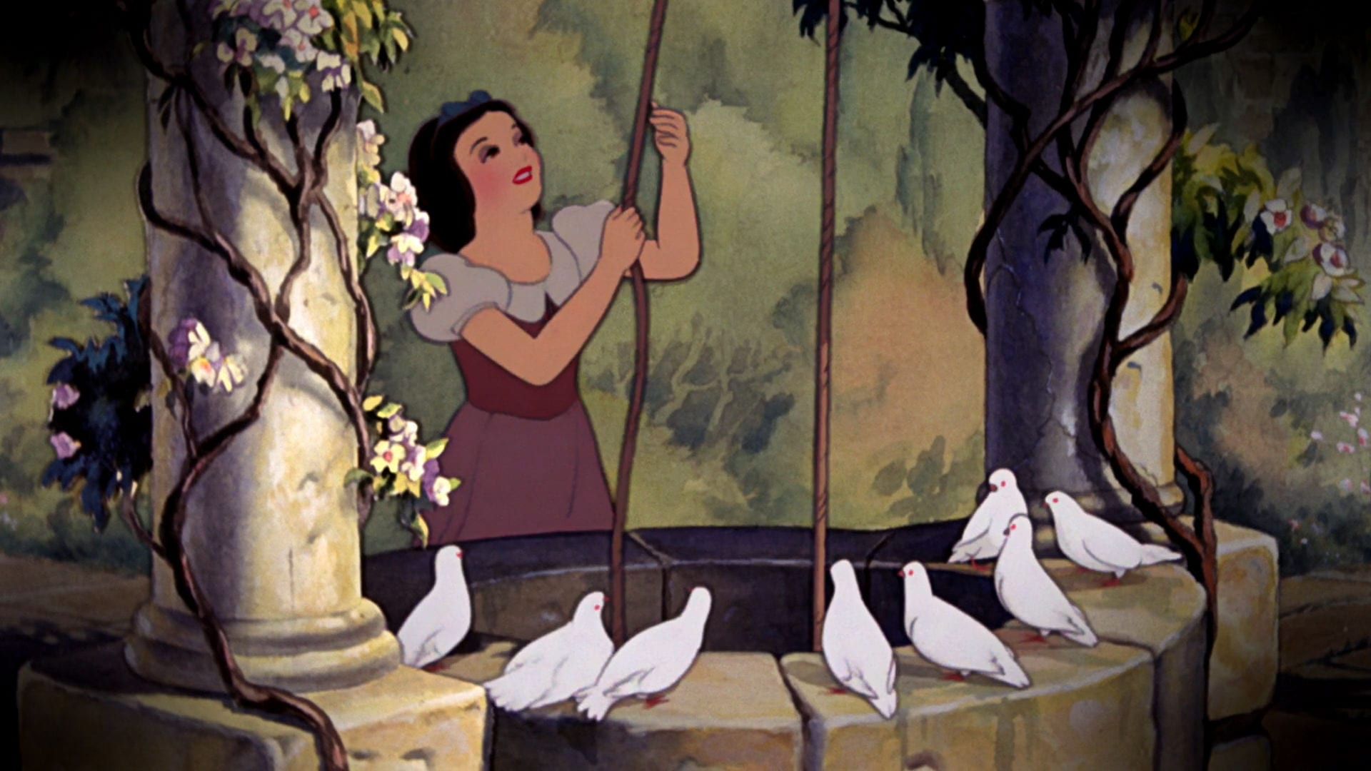 snow white and the seven dwarfs disney movies - Disney Princess Art And Activity Collection