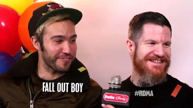 RDMA 2016   ผู้ถูกเสนอชื่อเข้าชิง Fall Out Boy