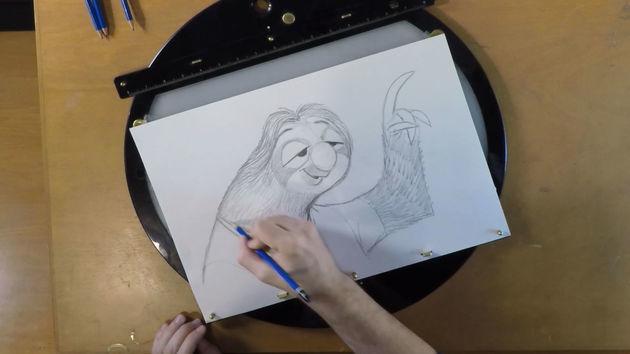 มาหัดวาดแฟลชจากดิสนีย์ Zootopia นครสัตว์มหาสนุกกันเถอะ