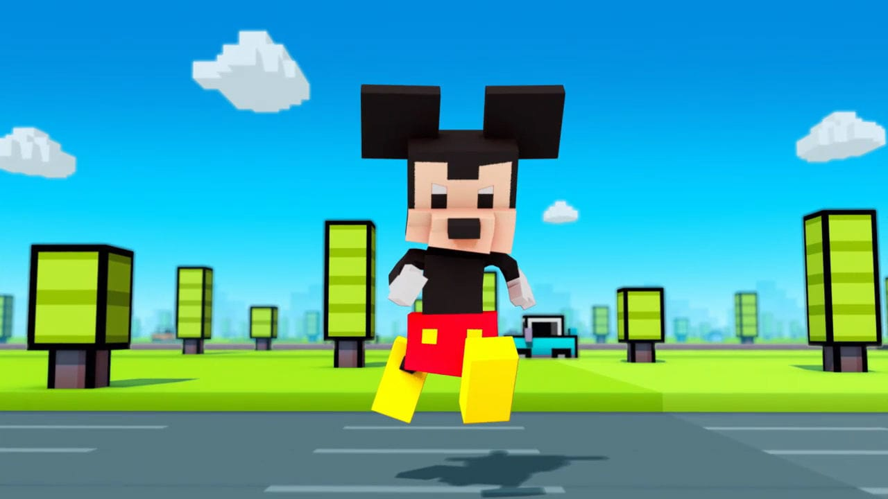 Disney Crossy Road - Trailer