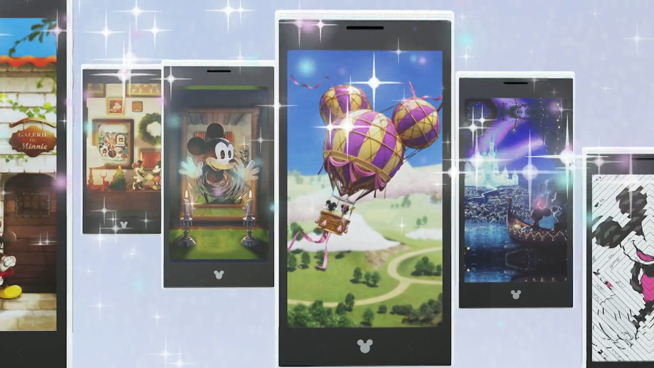 Disney Mobile – Choose from 3 magical designs