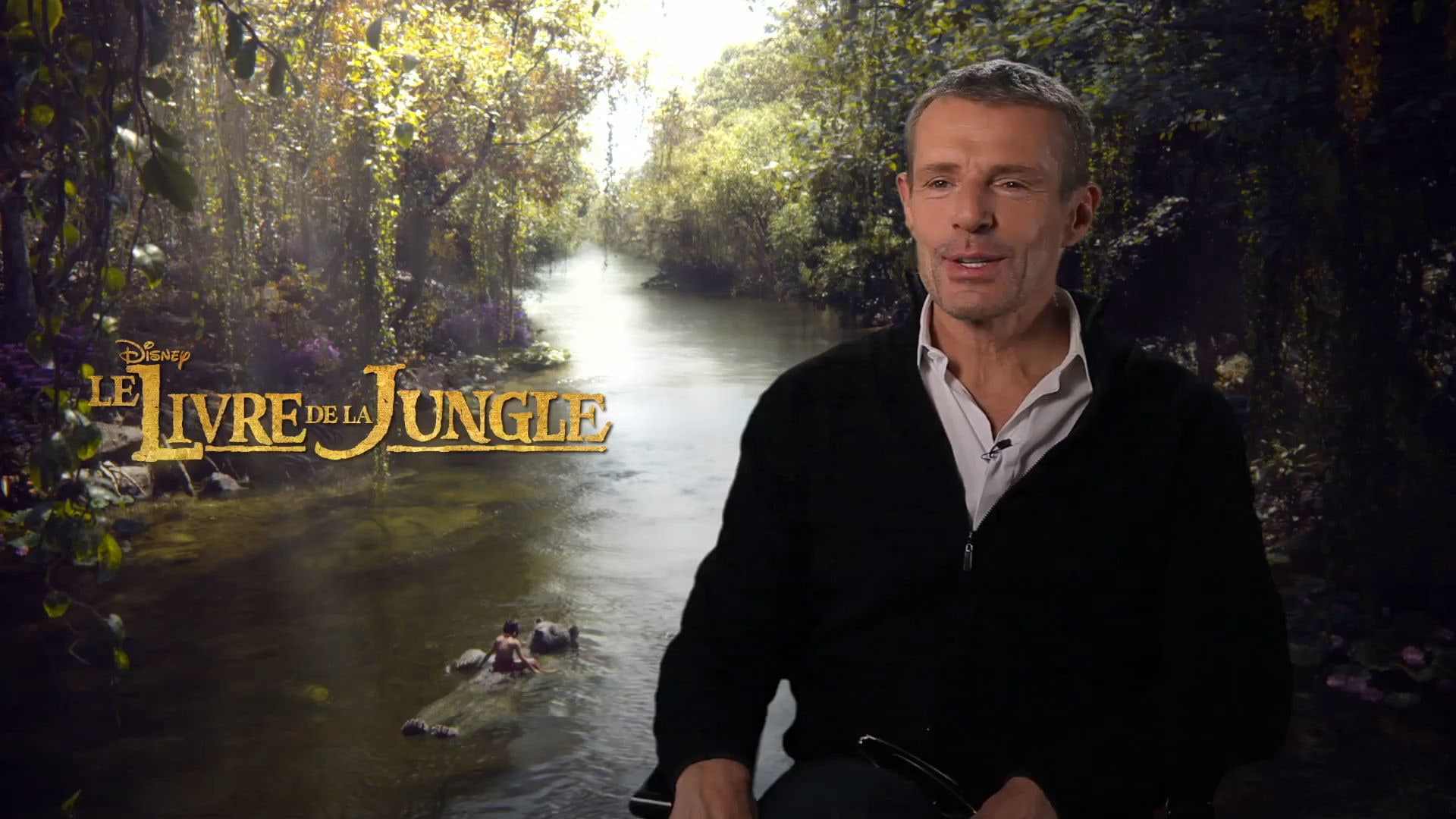 Le Livre De La Jungle - Interview : Lambert Wilson est Baloo