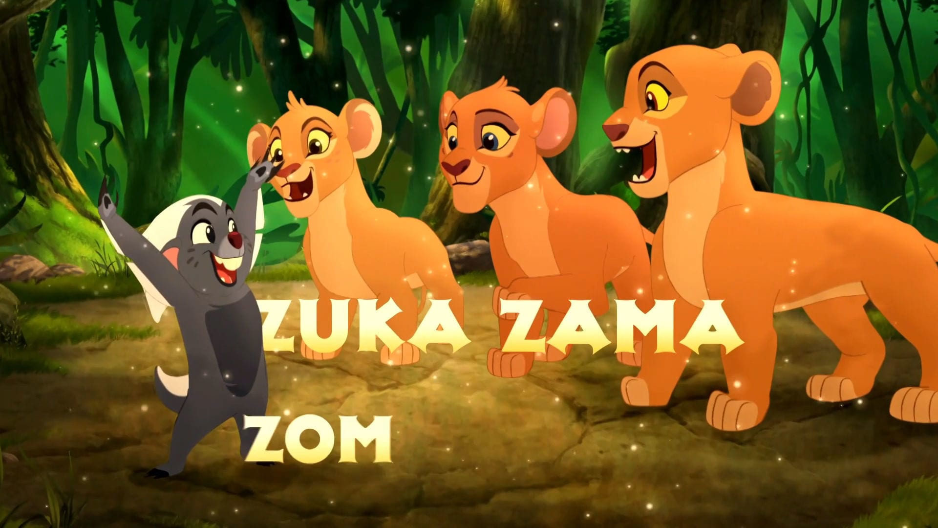 The Lion Guard: Return of the Roar - Get Ready to Zuka Zama!