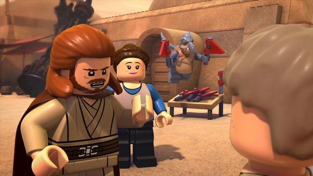 Red Flags Lego Star Wars Droid Tales Disney LOL