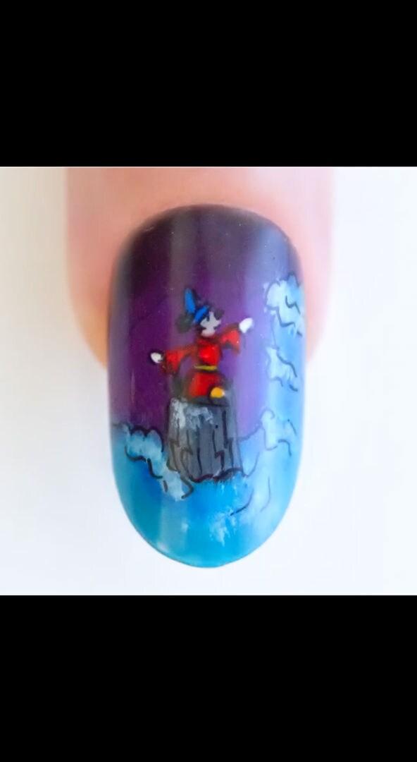 Fantasia Nail Art | Disney LOL