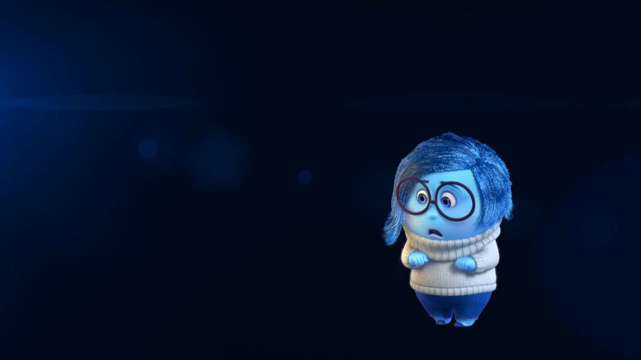 Inside Out Thought Bubbles - Sadness