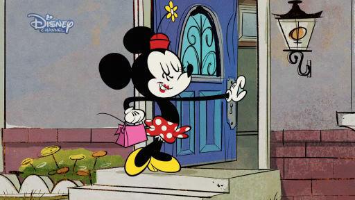 """Mickey Mouse i """"Køretur med omvej"""""""