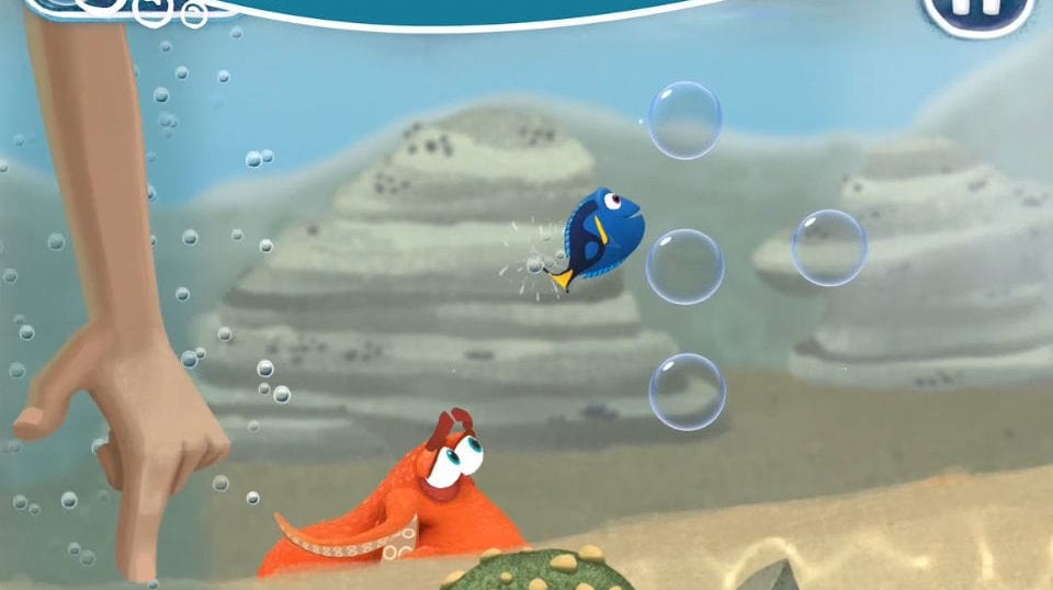 Finding Dory: Just Keep Swimming App Preview