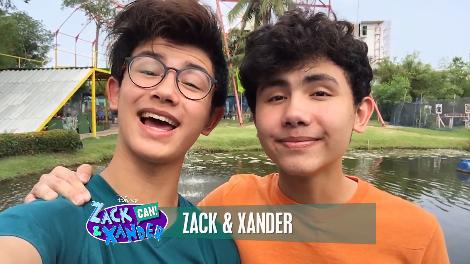 Zack & Xander Greeting 2 | Zack & Xander CAN! Web Series