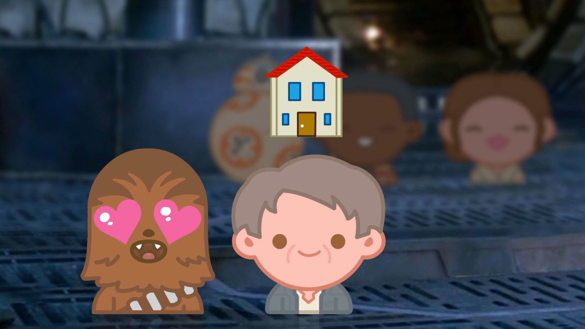 Lucasfilm's Star Wars The Force Awakens As Told By Emoji