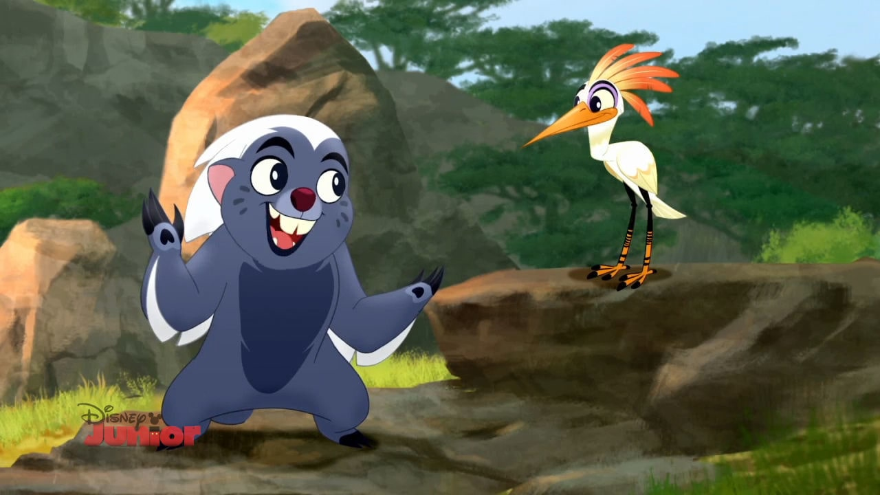 The Lion Guard - Unbunga-lieveable | Who has the Better Hair?