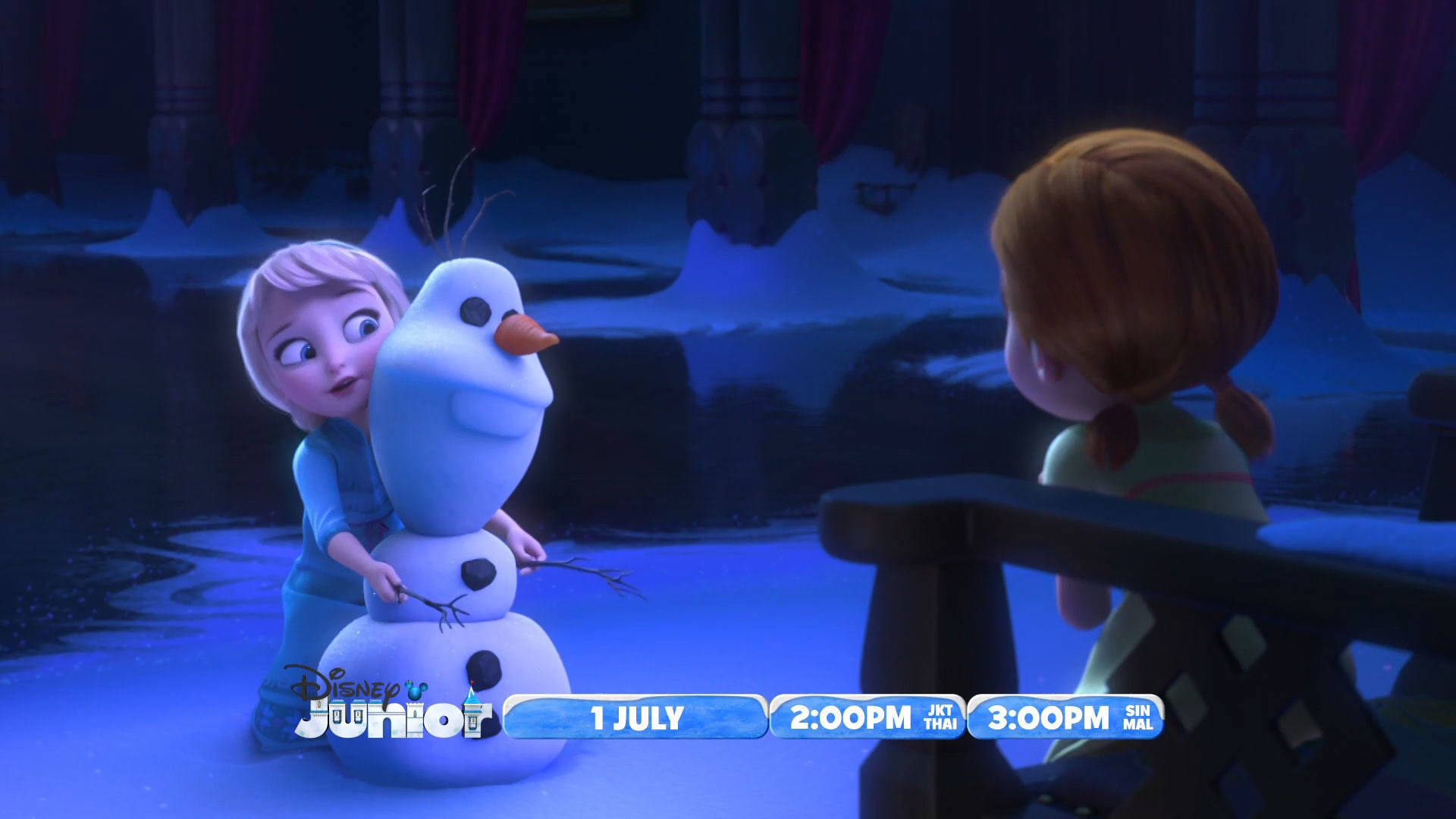 The Magical World of Disney Junior Presents - Frozen