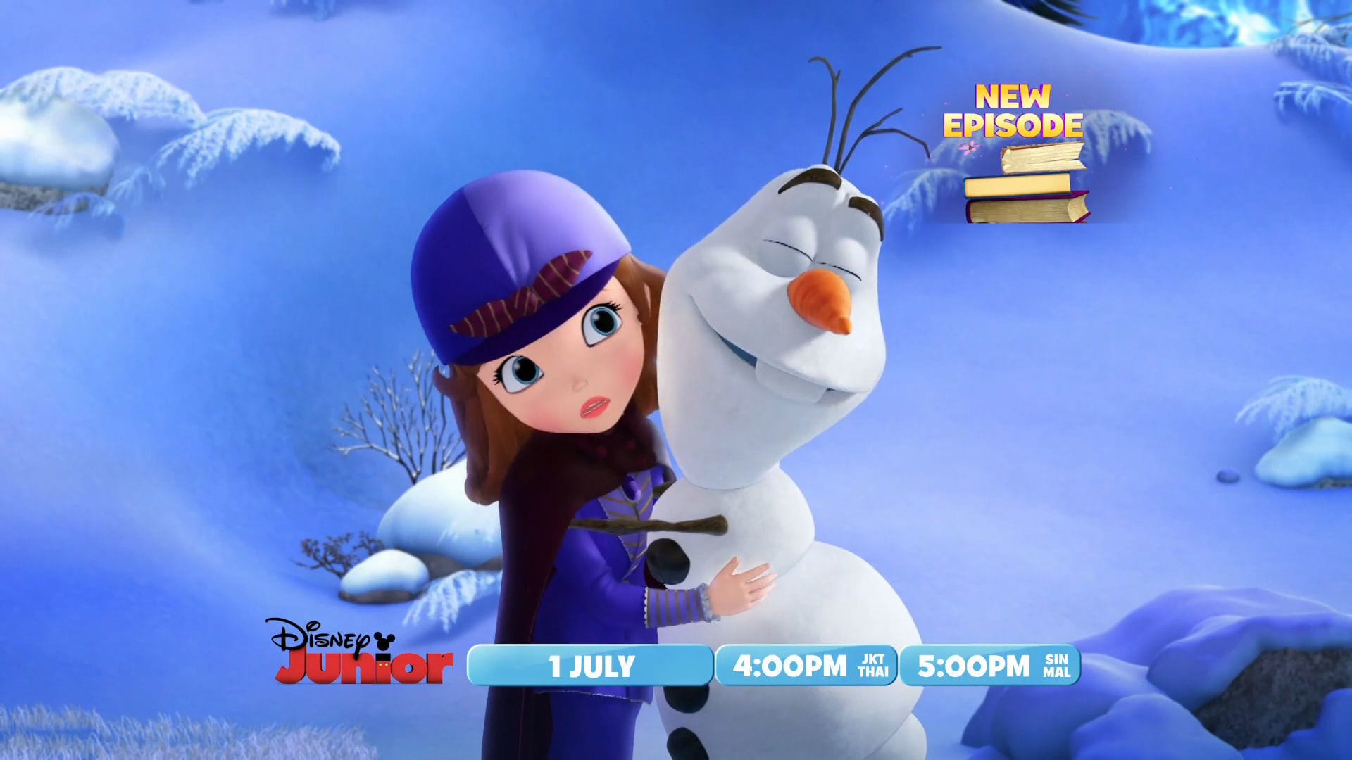 Sofia the First พบกับ Olaf!