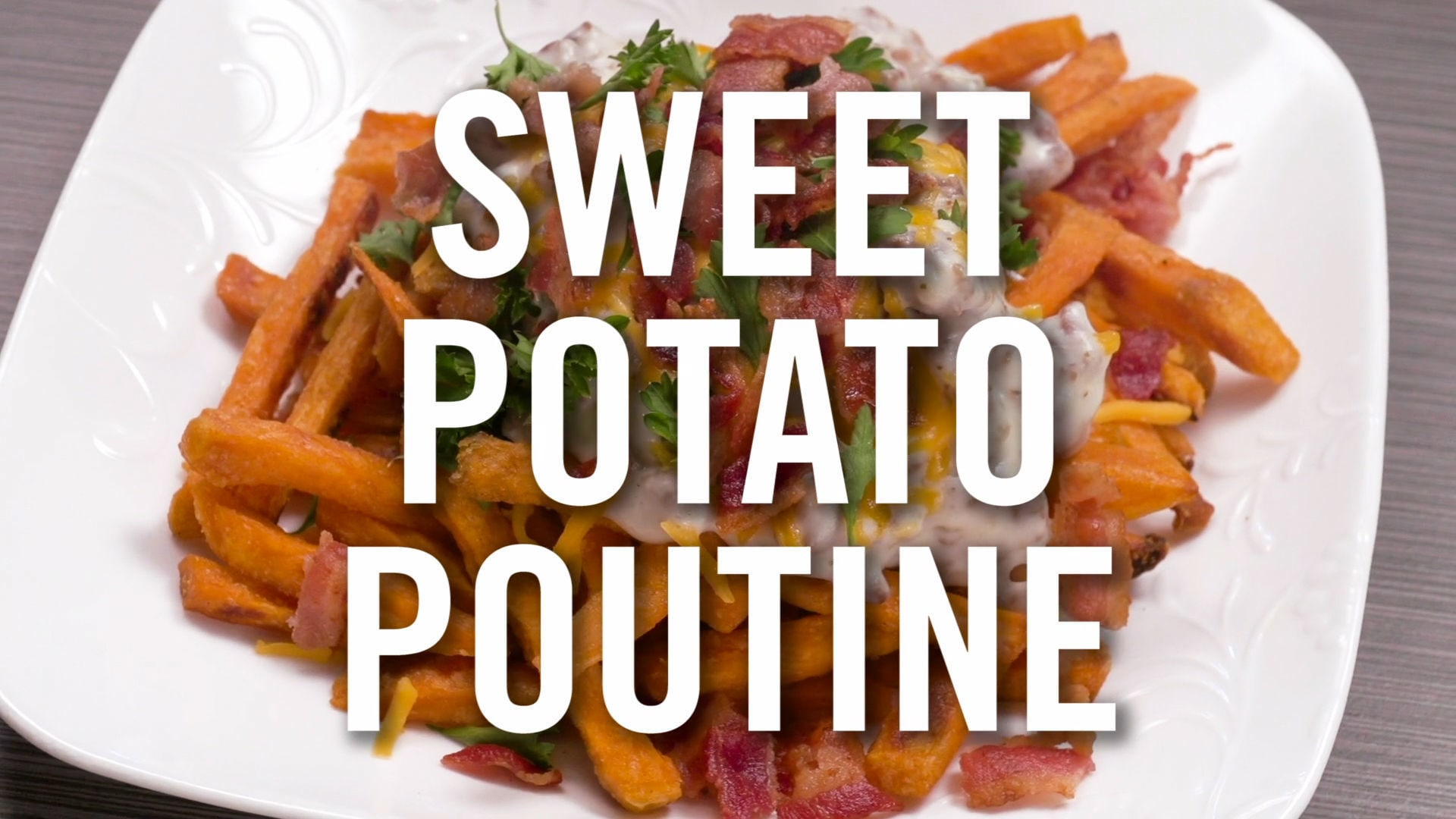 Sweet Potato Poutine | Babble Eats