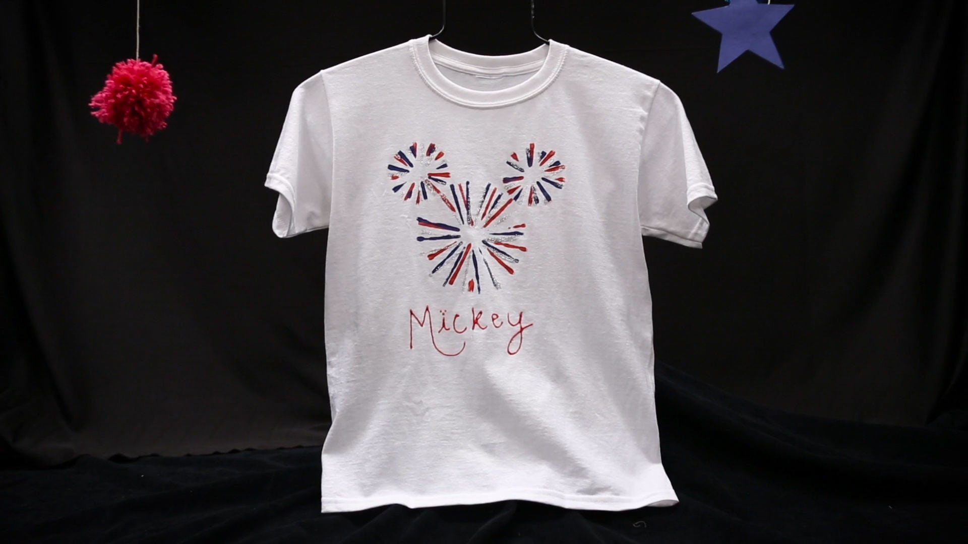 Mickey Mouse Fireworks Tee | Disney DIY